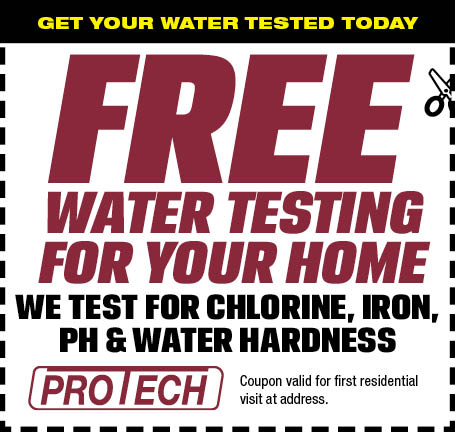 Free Water Testing For Your Home